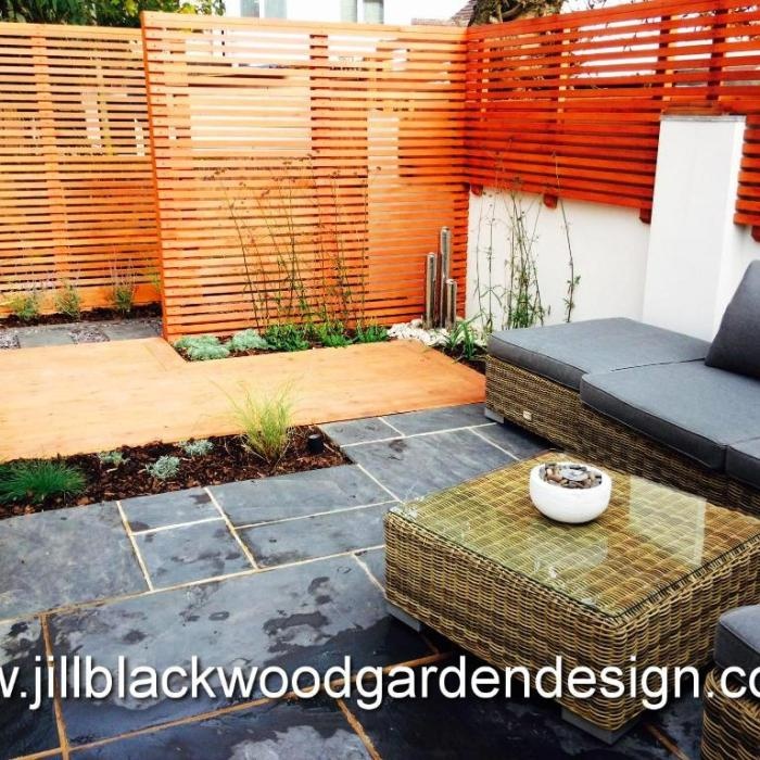Modern/Contemporary Small Garden, Swindon, Wiltshire