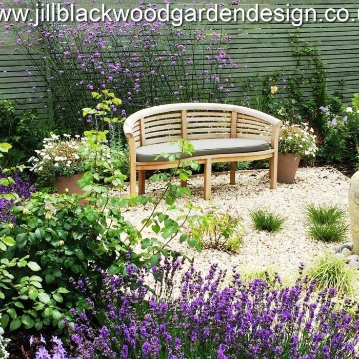 Mediterranean Garden Design In Malmesbury, Wiltshire