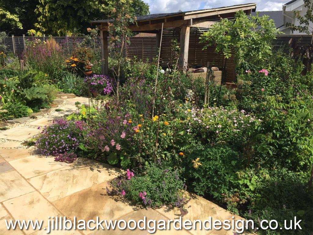 Rustic Garden Design Swindon Wiltshire