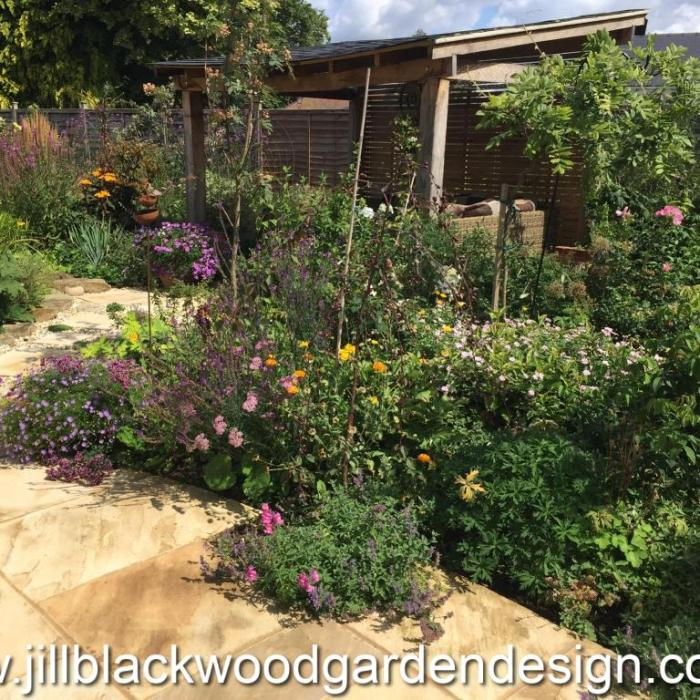 Rustic Garden Design In Shirvenham, Oxfordshire