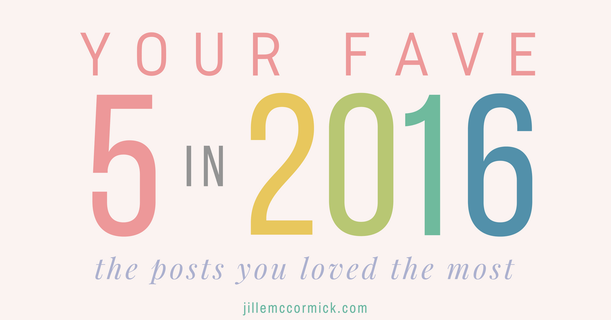 Your five favorite posts