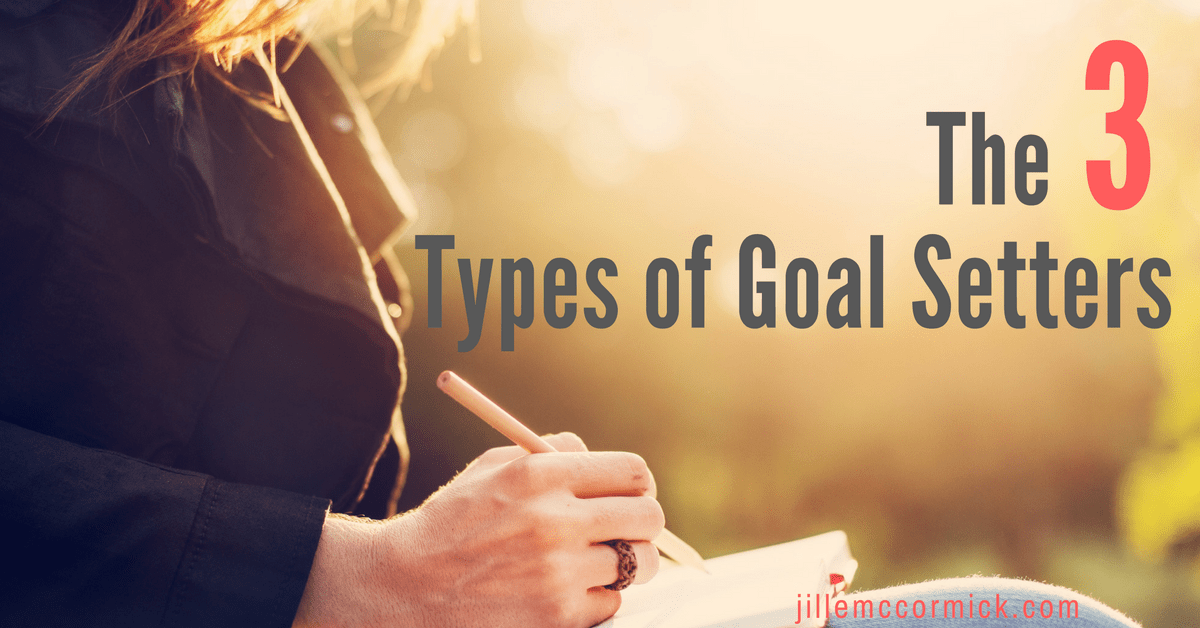 The three types of goal setters
