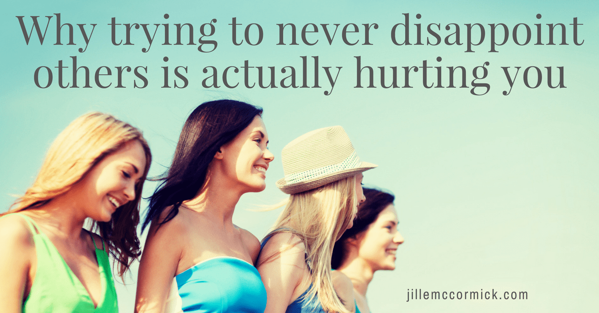 Why trying to never disappoint others is actually hurting you