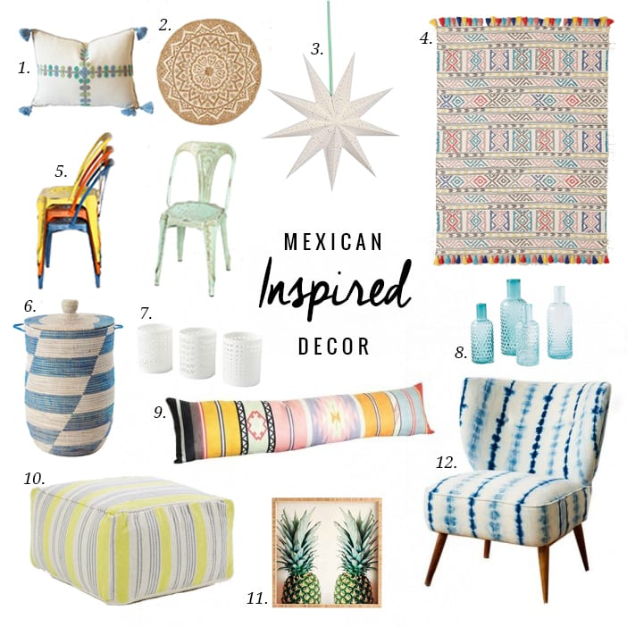 mexican style kitchen decor rachael ray accessories inspired - jillian harris