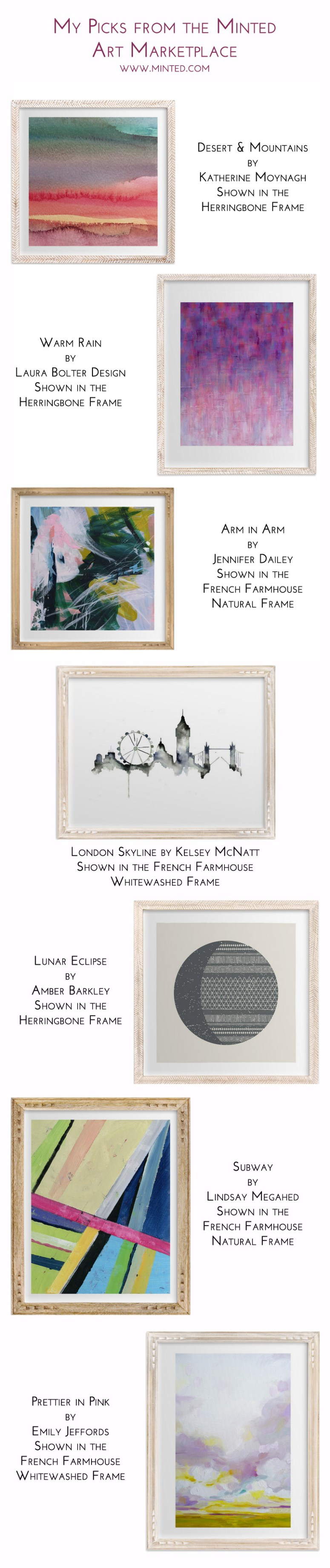 My Favorite Picks from the Minted Art Marketplace