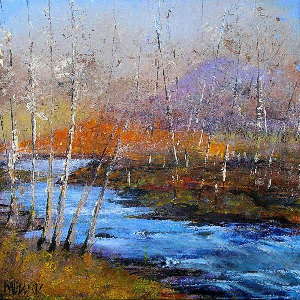 Acrylics - Jill Mellick