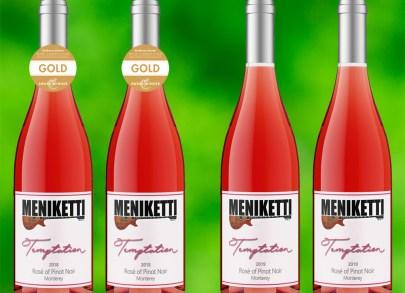 Photos of Temptation Rosé bottles