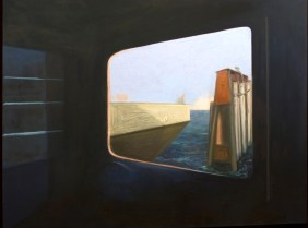 """Point of Departure, oil on canvas, 48"""" x 60"""""""