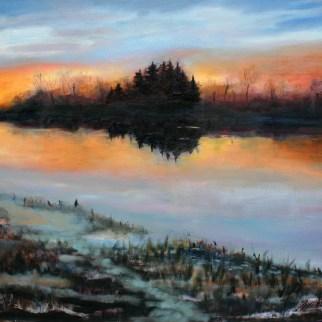 Ash Creek Sunset