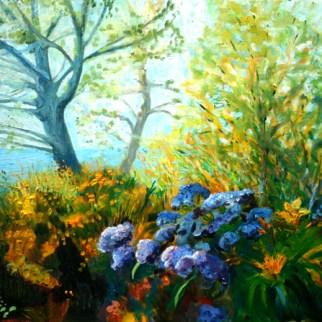 Oil painting by Jill Nichols
