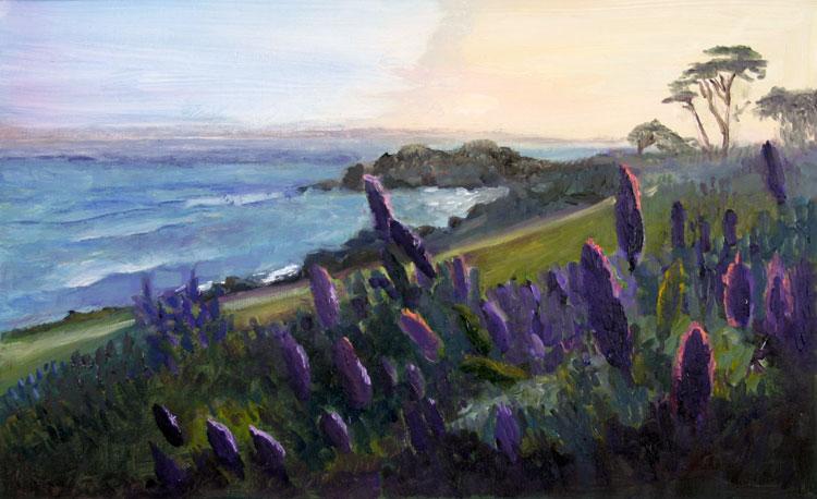 Seascape painting by Jill Nichols
