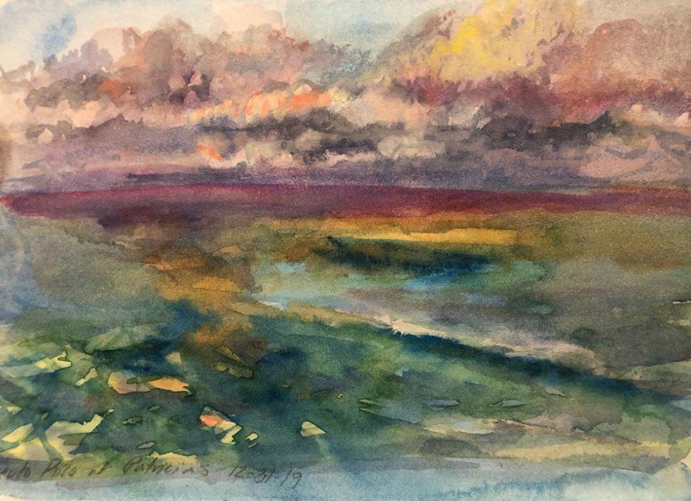 Jill Nichols Watercolor painting