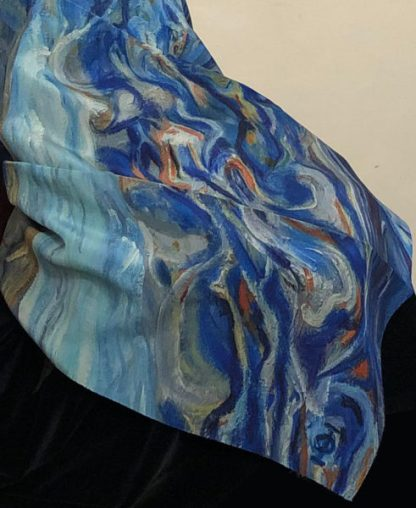 Juno Italian silk scarf art in the Vatican