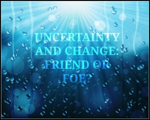 Uncertainty: Friend or Foe?