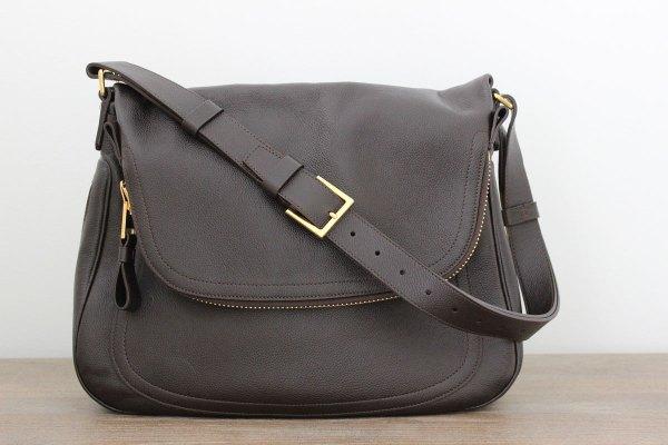 Tom Ford Jennifer Large Crossbody Bag Brown Jill'