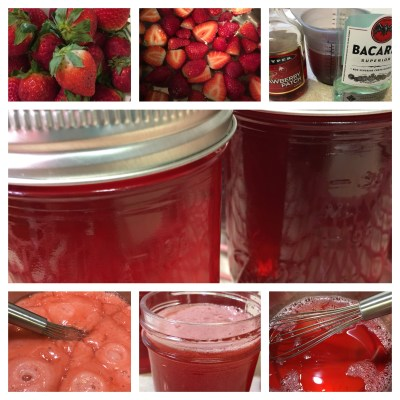 Strawberry Daiquiri Jelly