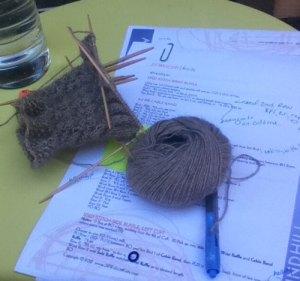 Deadline Knitting