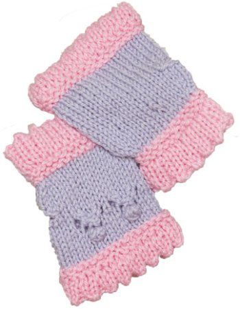 Raspberry Mitts, Berry Girly Collection