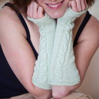 Meath Mitts: Summer Knitting