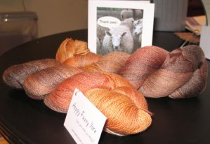 Happy Fuzzy Yarn Skeins