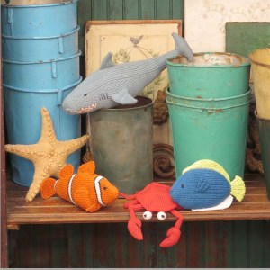 Reef Toys from 52 Timeless Toys to Knit by Chris deLongpre