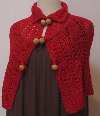 Red Windsor Capelette Front