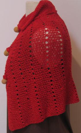 Red Windsor Capelette Side 2
