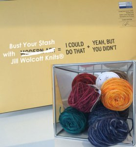 The Perfect (past) Yarn Stash
