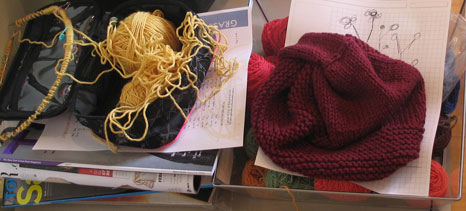 Knitting Life Current Projects