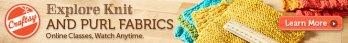 Jill Teaches on Craftsy: Pick the Perfect Stitch Pattern