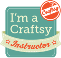 Jill teaches on Craftsy