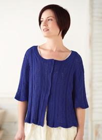 Beginner Lace Sweater, Love of Knitting, Summer 2015