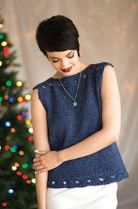 Jill in Love of Knitting, Twinkling Tinsel