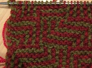 PuzzlKnit: Eureka Maze Fall Knitting