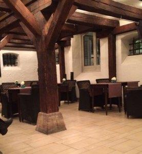 SFO to CPH: The Bar at our hotel in Copenhagen