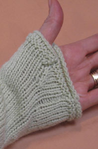 Finishing: Obstacles in Knitting, Meath Pullover thumb openings