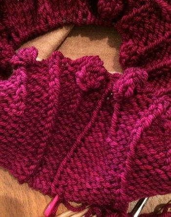 Lisse Hat Pattern: Bobblets-&-Purl-Rib