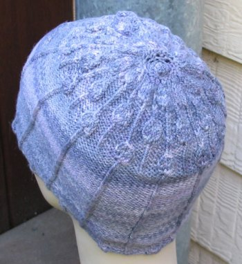 Lisse Hat Pattern Lavendar-3-4-view