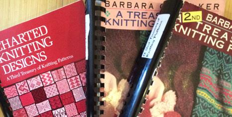 Knitting Traditions: A selection knitting stitch books