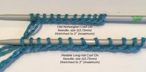 Favorite Techniques: Flexible long-tail cast on