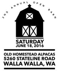 Old Homestead Alpacas: Open Barn