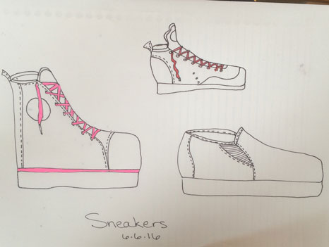 Preparations: Sneakers