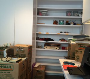 Unpacking a Life: Studio unpacking