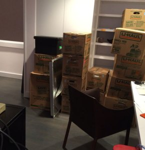 Unpacking a Life: Studio pre-unpacking