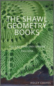 Holly Chayes' Self-Made Wardrobe Project: Shawl Geometry Revisions