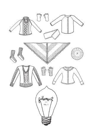 Filament, Illustrations by Laurel Johnson