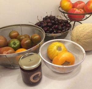 Complications: first trip to neighborhood farmer's market