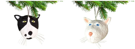 Krista Benskin: Cat Ornaments