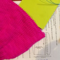 Go High Hat: The bind off