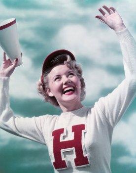 Sweater History: Cheerleader